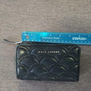 Marc Jacobs bi-fold zip wallet (leather)